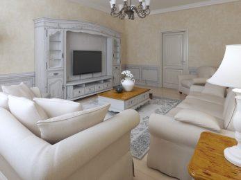 TV Meubel landelijk wit